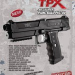 Tippmann TPX Paintball Pistol - Sales Sheet